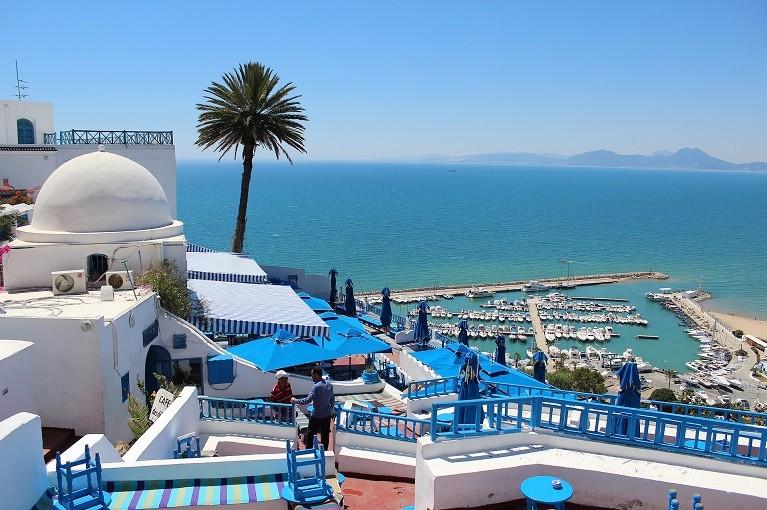 Miasteczko Sidi Bou Sad, Tunezja